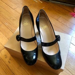 Authentic Vintage Christian Louboutin Mary Janes